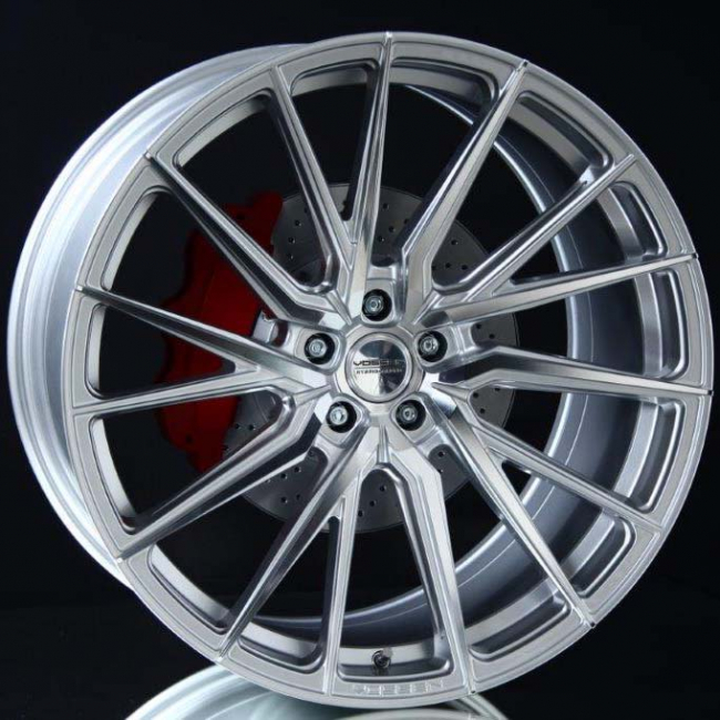 VOSSEN HF4T SILVER POLISHED 9X20